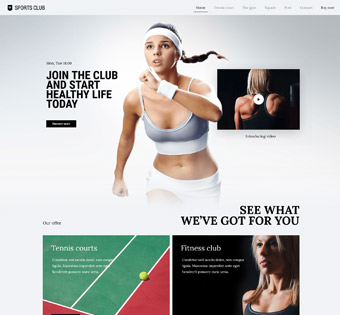 Website Design Theme Samples 74