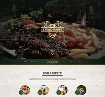 Website Design Theme Samples 73