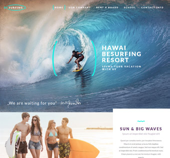 Website Design Theme Samples 69