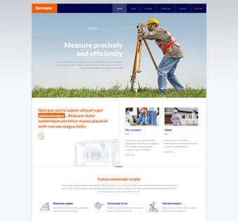 Website Design Theme Samples 68