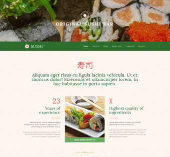 Website Design Theme Samples 67