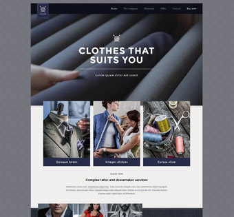 Website Design Theme Samples 66