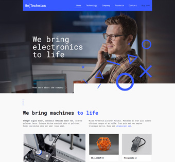 Website Design Theme Samples 62