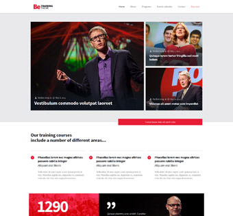 Website Design Theme Samples 56
