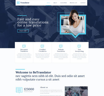 Website Design Theme Samples 54