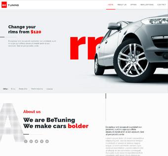 Website Design Theme Samples 51