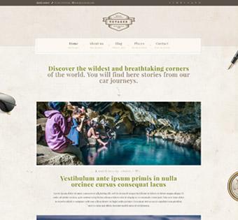 Website Design Theme Samples 43