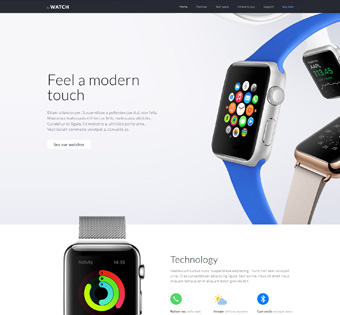 Website Design Theme Samples 39