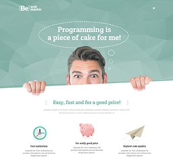 Website Design Theme Samples 37