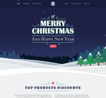 Website Design Theme Samples 30