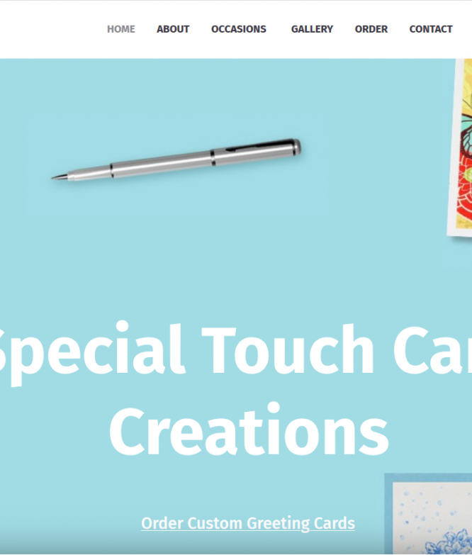 Special Touch Card Creations 4